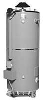 Model D-100T-199-AS (Tall) 100 Gallon (gal) Heavy Duty Storage Direct Spark Ignition Dampered Commercial Gas Water Heaters