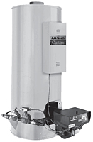 Conservationist® Large Volume Powered Burner Commercial Gas Water Heaters