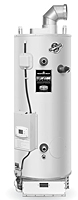 Commercial Power Direct Vent Co-Axial Vent Energy Saver Gas Water Heaters